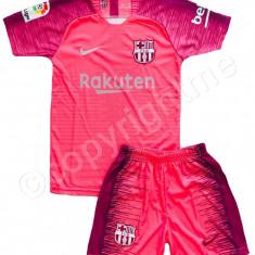 Compleu Echipament FOTBAL pt. copii FC BARCELONA MESSI model 2018-2019