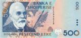 ALBANIA █ bancnota █ 500 Leke █ 1996 █ P-64 █ UNC █ necirculata