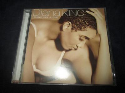Diana King - Think Like A Girl _ CD,album _Columbia ( Europa ) foto