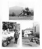 B2356 Lot 3 poze motocicleta Romania 1966