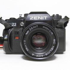 Zenit 122 cu obiectiv M42 MC Helios-44M-4 58mm 1:2