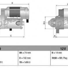 Electromotor TOYOTA RAV 4 IV (ZSA4_, ALA4_) DENSO DSN1213