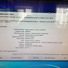 Unitate office Intel core 2 duo e7300 2.7