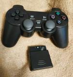 Controller/maneta/telecomanda wireless(fara fir), pentru PS2, nou! Dualshock!