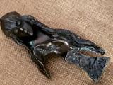Statueta bronz - grea 1.2kg - MADONA