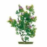 planta pentru acvariu - plastic, 17 cm flori violete