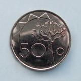 NAMIBIA  -  50 Cents 1993  -  aUNC