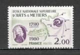 Franta.1980 200 ani Scoala Nationala Superioara de Arte si Meserii MF.808, Nestampilat