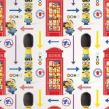 Tapet Minions Hello London