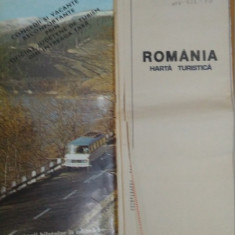Ministerul Turismului, România - Hartă Turistică