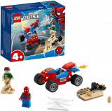 LEGO SUPER HEROES CONFRUNTAREA DINTRE OMUL PAIANJEN SI SANDMAN 76172