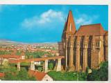 Bnk cp Hunedoara - Castelul Huniazilor - circulata - marca fixa, Printata
