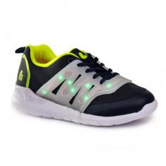Pantofi Sport Baieti BIBI EASY LED 33 EU