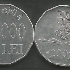 ROMANIA   5000  5.000  LEI 2002  [1]   XF++ a UNC  ,  livrare in cartonas