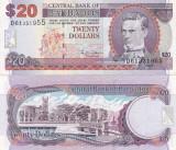 Barbados 20 Dollars 2 000 UNC
