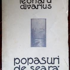 LEONARD DIVARIUS-POPASURI DE SEARA/VERSURI/CRAIOVA1929/DEDICATIE PT ICP-POLYCLET