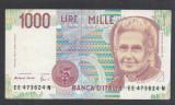 A238 Italy Italia 1000 lire 1990 XF