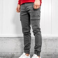 Pantaloni cargo bărbați grafit Bolf KA1300
