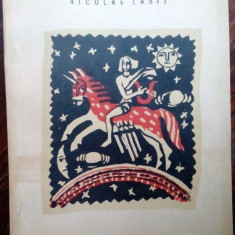 NICOLAE LABIS - PRIMELE IUBIRI (VERSURI, ed. princeps 1956/coperta P.MIRACOVICI)