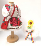 Cumpara ieftin Set Traditional Botez Fetita - Costumas + Lumanare 4