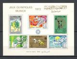 Tunisia.1972 Olimpiada de vara MUNCHEN-Bl.  DD.427