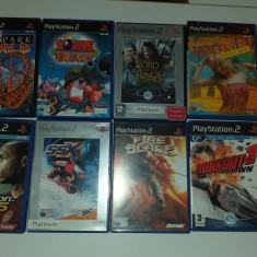 LOT 10 Jocuri: Sega Collection + Burnout + Worms - PS 2 [Second hand], Actiune, 3+, Single player