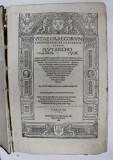 VITAE GRAECORVM ROMANORVMQVAE ILLUSTRIVM AVTORE PLVTARCHO . V. ENGELSHOFEN 1506 , TEXT IN LIMBA LATINA , APARUTA 1532