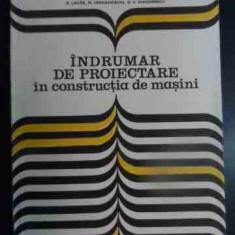 Indrumar De Proiectare In Constructia De Masini Vol.2 - I. Draghici Si Colab. ,540858
