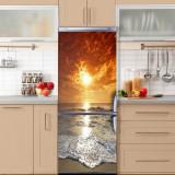 Sticker Tapet Autoadeziv pentru frigider, 210 x 90 cm, KM-FRIDGE-68