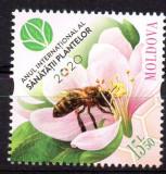 MOLDOVA 2020, Fauna - Flora, serie neuzata, MNH, Nestampilat