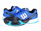 Adidasi tenis barbati Wilson Rush Pro 2.0 Clay Court black -blue WRS321430, 41