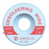 Tresa absorbanta cositor 3mm/1,5m ZD-180-3