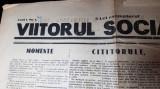 viitorul social 11 octombrie 1931-anul 1,nr.1-caricatura iuliu maniu,n.iorga