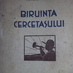 carte veche,BIRUINTA CERCETASULUI,SIMIONESCU,Desen BORDENACHE,1932,T.GRATUIT