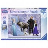 Puzzle Frozen, 100 piese Ravensburger