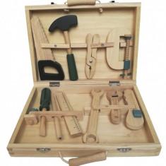Set de unelte din lemn, Egmont toys