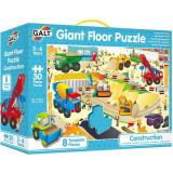 Cumpara ieftin Giant Floor Puzzle: Santierul, 30 piese, Galt