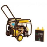 """Cumpara ieftin Generator de curent Stager FD 6500E, benzina Seria """"Open Frame"""", 5.0 kW pornire electrica + Automatizare"""