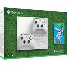 Consola Xbox One S 1TB Alb + FIFA 19 + Extra Controller