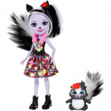 Cumpara ieftin Papusa Enchantimals by Mattel Sage Skunk cu Figurina
