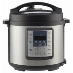 Multicooker Gorenje MC6MBK Putere 1000W Capacitate 6l 15 programe de gatit Gatire cu presiune Argintiu/Negru