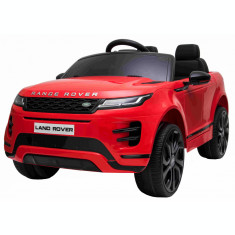 Masinuta electrica Premier Range Rover Evoque, 12V, roti cauciuc EVA, scaun piele ecologica, rosu