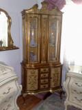 Vitrina florentina(Baroc venetian/rococo/Ludovic), vintage/antic/mobila stil, Sufragerii si mobilier salon