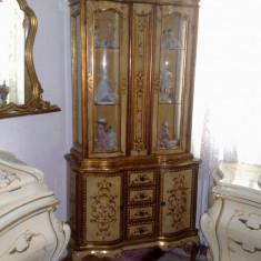 vitrina florentina(Baroc venetian/rococo/Ludovic), vintage/antic/mobila stil