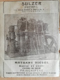Cumpara ieftin reclama SULZER Freres, motoare Diesel, masini abur, frigorifere, 1922, Bucuresti