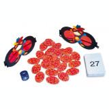 Joc matematic Super Spionul, 100 de carduri cu misiuni, 4 ochelari de spion