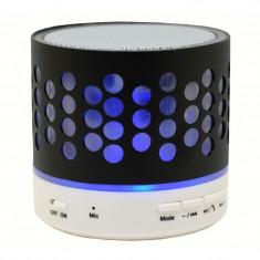Boxa Portabila Bluetooth iUni DF05, 3W, USB, Slot Card, AUX-IN, Radio, Aluminiu, Negru