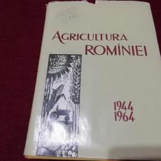 AGRICULTURA ROMANIEI - 1944-1964