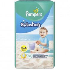 Scutece Pampers Splash 3, pentru apa, 12 bucati