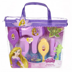 Set de coafura Printese Disney Rapunzel, 34 x 30 cm, 3 ani+